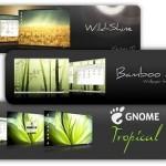 12 potentes temas para GNOME en Ubuntu directamente desde Synaptic.