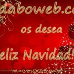 Desde Daboweb os deseamos Feliz Navidad